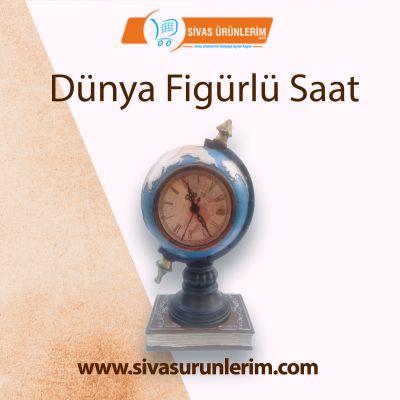 Dünya Figürlü Saat