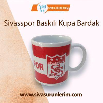Sivasspor Baskılı Kupa Bardak