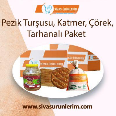 Pezik Turşusu, Katmer, Çörek, Tarhanalı Paket