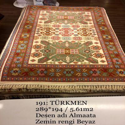 Türkmen El Dokuma Halısı 191