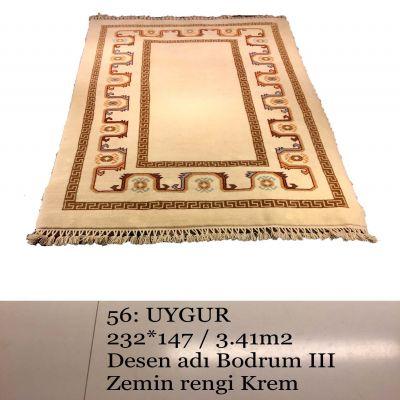 Uygur El Dokuma Halısı 56