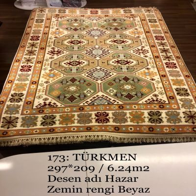 Türkmen El Dokuma Halısı 173