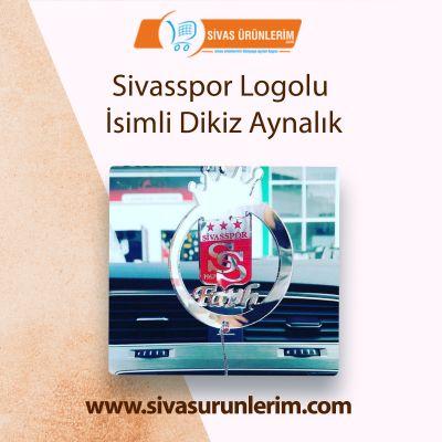 SivasSpor Logolu İsimli Dikiz Aynalık