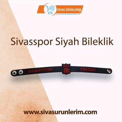 Sivasspor Siyah Bileklik