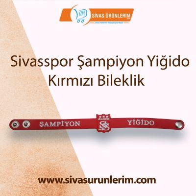 Sivasspor Şampiyon Yiğido Kırmızı Bileklik