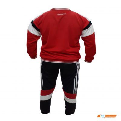 Sivasspor  Siyah Kırmızı Yetişkin Eşofman Takımı