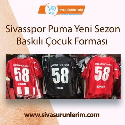 Sivasspor Puma Yeni Sezon Baskılı Çocuk Forma